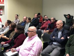 Gente interesada en nuestra conferencia
